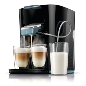 All-in-One: Philips Senseo HD7855 und HD7857 Latte Duo Kaffeepad-Vollautomat im Test